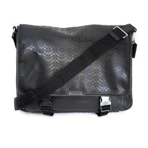 COACH Black Laptop Bag